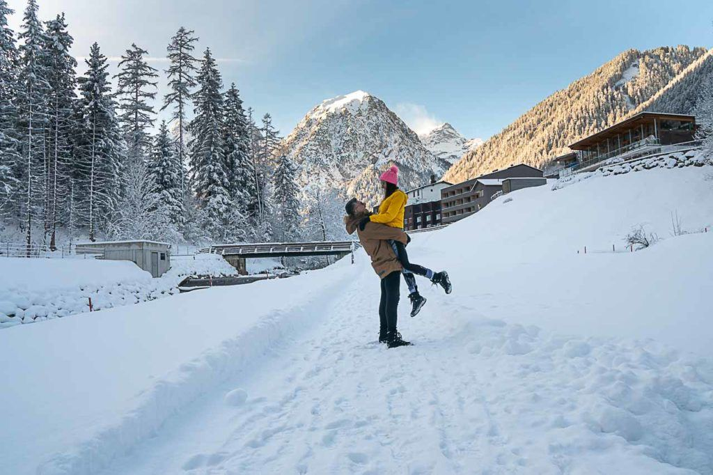 Follow Love and Road travel tips for Brandnertal ski and other adventures in Vorarlberg, Austria, a snowy fairytale.