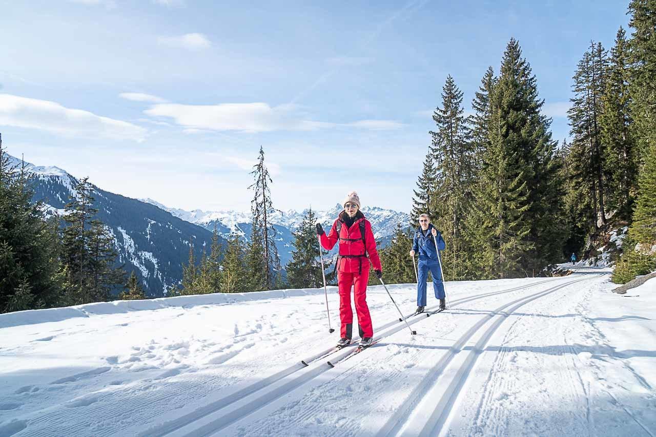 Winter in Montafon ski fun