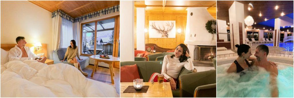 At Montafoner Hof Hotel you can enjoy comfy rooms, lounge with fireplace, saunas, jacuzzi, indoor and outdoor heated pools and much more.