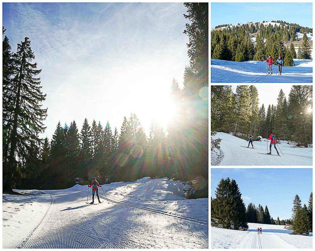 Folgaria Lavarone ski area in Alpe Cimbra is your winter destination for cross country skiing (also called Nordic Ski, or SCi di Fondo in Italian).