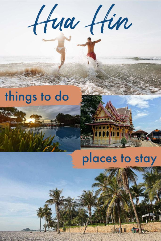 Hua Hin is a destination in Thailand that offers more than sun and sea. This charming beach town has good food, arts, markets, cultural sites, watersports, and beautiful nature. We listed the top things to do in Hua Hin, attractions for families, friends, and couples with suggestions for day tours and local experiences. Plus travel tips on how to get there, where to stay in Hua Hin, the best hotels and beaches. #huahin #huahinthailand #huahinthingstodo #huahinhotels #huahinbeach