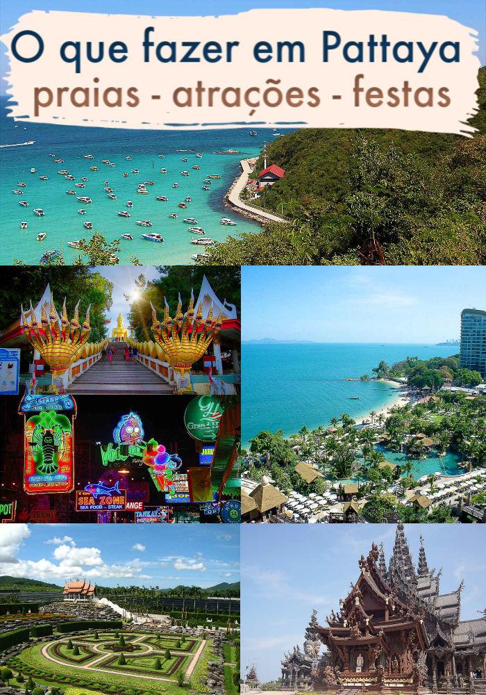 Vale a pena visitar Pattaya na Tailândia? Nós acreditamos que sim. Esta cidade de praia é famosa por sua vida noturna e festas, mas também oferece muitas atividades para famílias, casais e grupos de amigos. Listamos o que fazer em Pattaya desde atrações culturais, praias e ilhas para visitar. Dicas preciosas de como viajar para Pattaya, onde ficar e os melhores hotéis. #Pattayatailandia #Pattayabeach #oquefazerempattaya #pattayawalkingstreet #pattayahotel #tailandia