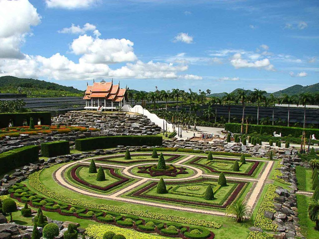 Nong Nooch Botanical Garden is one of the most beautiful Pattaya tourist places.