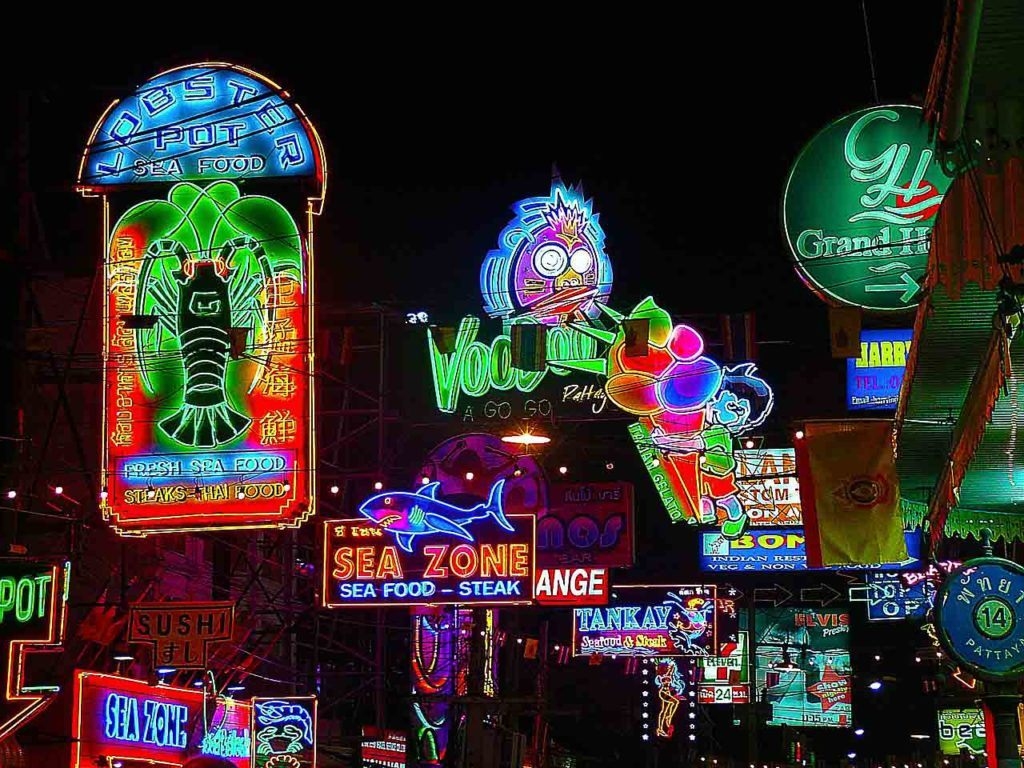 Pattaya tourist places have to include the famous Walking Street showing Pattaya's nightlife at its best.