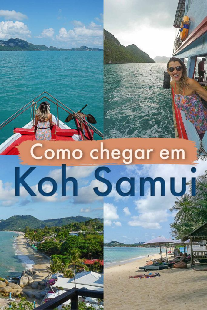 Dicas de como viajar para Koh Samui na Tailândia. As melhores rotas e como ir para Koh Samui saindo de Bangkok, Chiang Mai, Krabi e outros destinos na Tailândia. Dicas de como escolher os meios de transporte mais baratos e como comprar as passagens de trem, ônibus e barco para Koh Samui online gastando menos e com segurança. #kohsamui #kohsamuitailandia #kohsamuiviagem