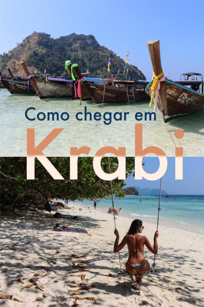 Guia detalhado sobre como viajar para Krabi de qualquer lugar na Tailândia. As melhores opções para ir de Bangkok para Krabi, assim como de Chiang Mai, Phuket e das ilhas do Golfo da Tailândia. Dicas de viagem para ajudar você a escolher as melhores rotas de ônibus, trens, voos ou ferry para Krabi, além de como reservar suas passagens. #tailandia #krabi #krabiviagem