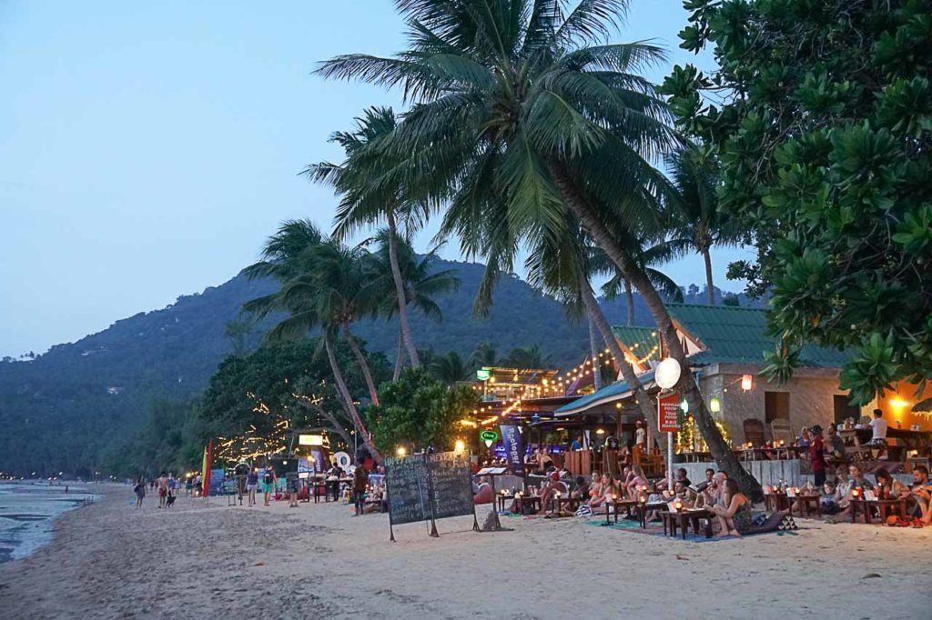 Koh Tao nightlife is great.