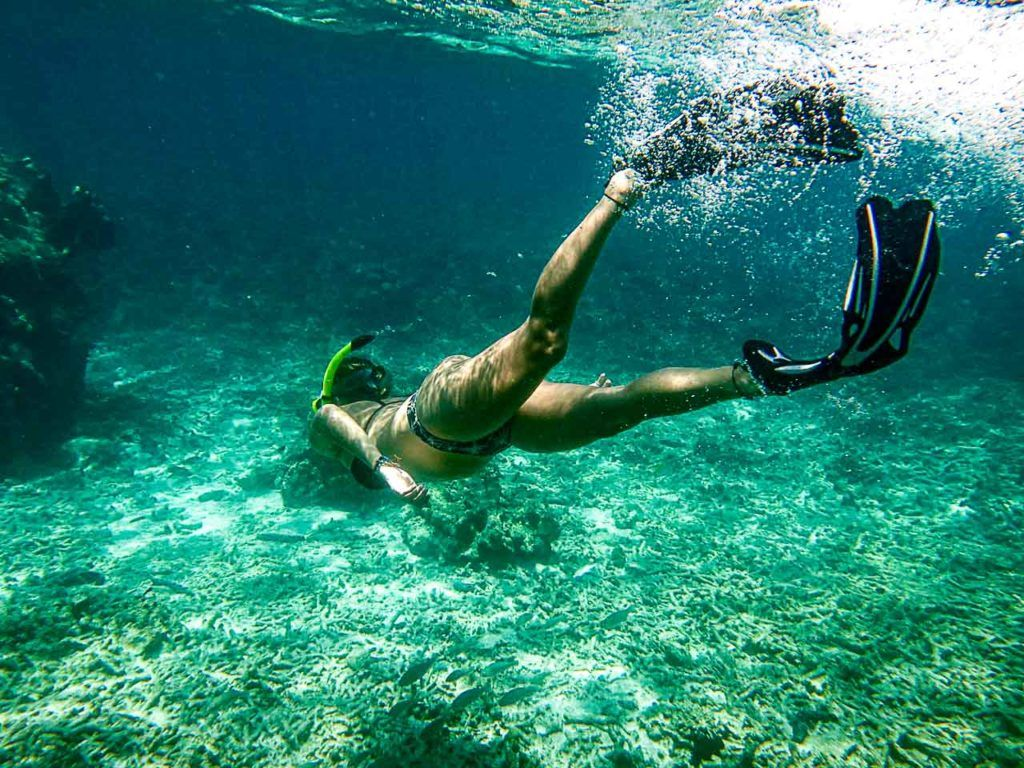 Snorkeling in Koh Tao is a must do. Go for the boat tours around the island.