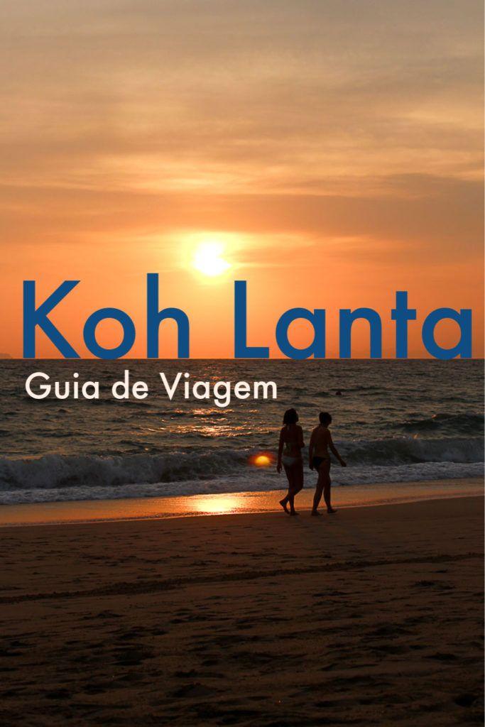 Guia de Koh Lanta na Tailândia. Roteiro do que fazer em Koh Lanta, as melhores praias da ilha, os passeios de barco mais legais e lugares para visitar. Dicas de como chegar em Koh Lanta e se locomover pela ilha. Além de recomendações de onde ficar em Koh Lanta, melhores hotéis e hostels. Um super guia com tudo que você precisa saber para planejar uma viagem inesquecível para Koh Lanta. #kohlantatailandia #kohlantapraias #kohlantaviagem #kohlantahotel