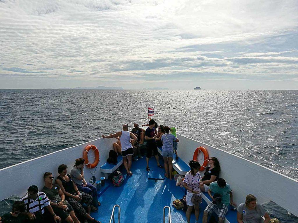 Ferry between islands in Thailand.