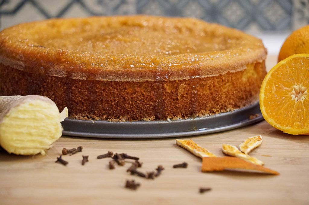Find out how to bake the perfect gluten free orange cake.