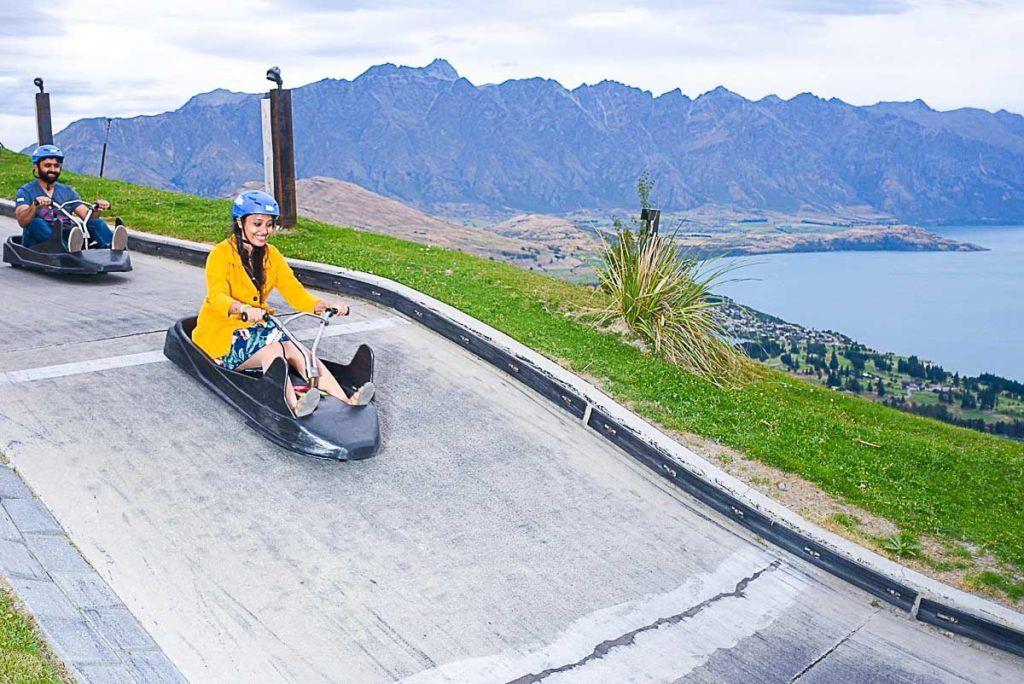 O Skyline de Queenstown, na Nova Zelândia, tem diversão para toda a família.