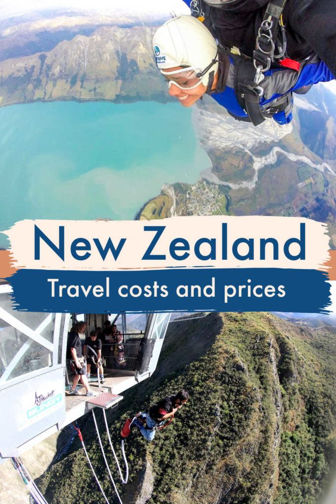 How much does it cost to travel to New Zealand? Is New Zealand expensive? We answer these questions, and more. Here is a New Zealand trip costs breakdown with transportation, accommodation, attractions, and food prices. Read our guide to New Zealand travel prices to plan your travel budget and save money on your next trip. #newzealand #newzealandprices #newzealandtips #newzealandtravel