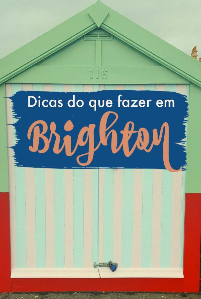 Descubra o que fazer em Brighton em 1 dia e aproveite ao máximo sua viagem bate e volta de Londres! Montamos um roteiro com as melhores coisas para fazer em Brighton, onde comer e o que ver. É o itinerário perfeito de 1 dia em Brighton. Se decidir ficar mais tempo, também damos boas recomendações sobre onde ficar em Brighton, Reino Unido. #brighton #inglaterra #reinounido #UK #brighton1dia