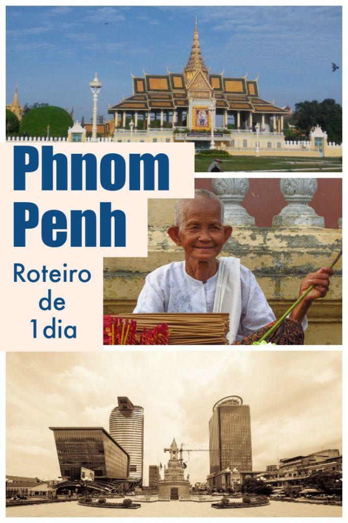 Tudo o que você precisa saber para passar 24 horas em Phnom Penh, Camboja. O que fazer em Phnom Penh em um dia, onde ficar, lugares para comer e como aproveitar a vida local. Um guia rápido para o curtir o melhor da capital do Camboja. #PhnomPenh #Camboja #PhnomPenhHotels