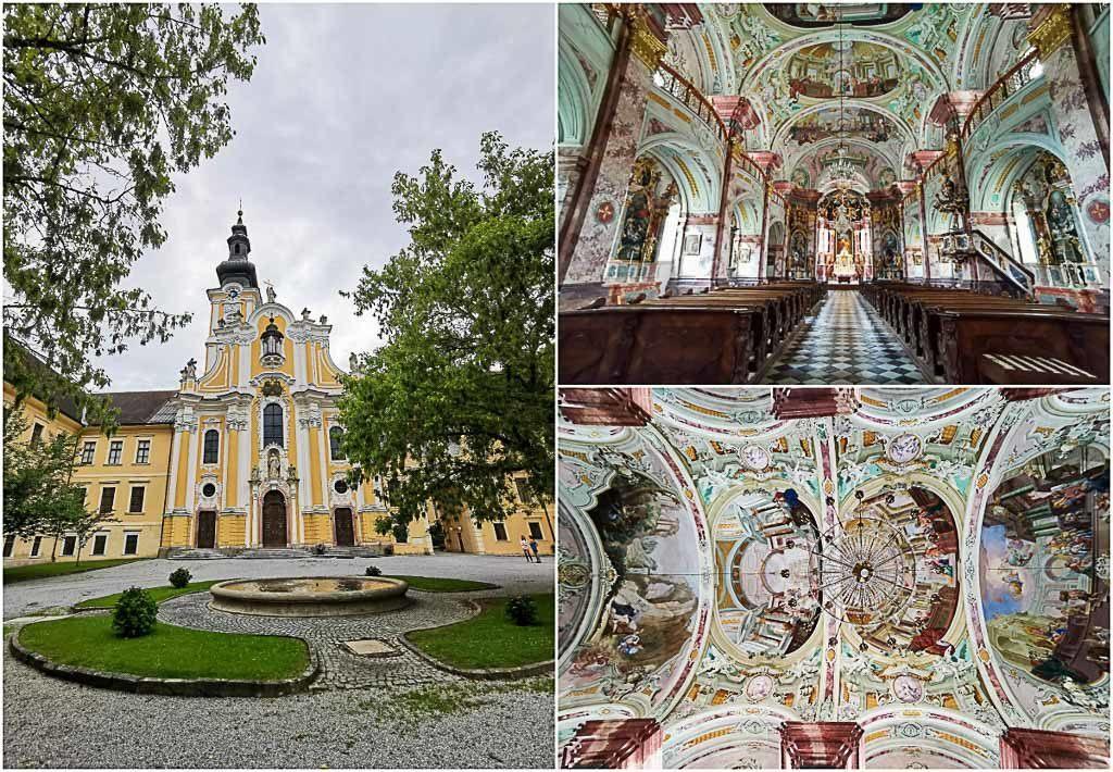 O Mosteiro Cisterciense perto de Graz foi estabelecido em Rein, Áustria, em 1129 e é a mais antiga comunidade cisterciense remanescente no mundo. Lá, não deixe de visitar a Igreja da Abadia Barroca.