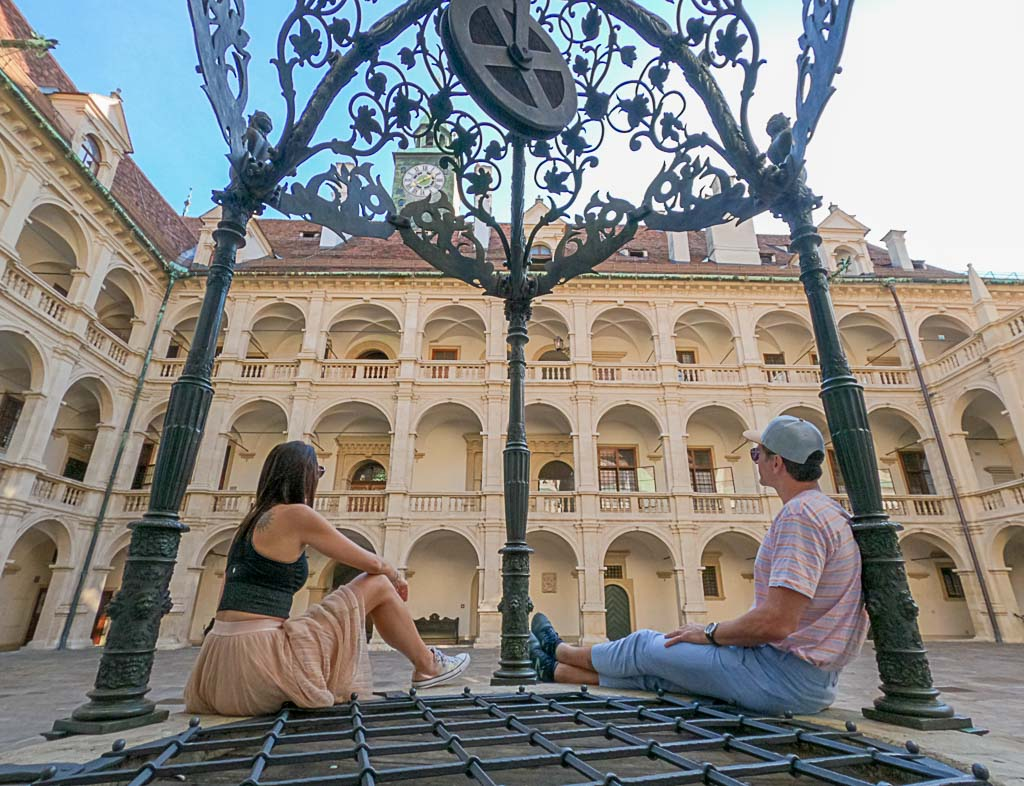 Looking for things to do in Graz? Try to discover the city's courtyards and secret gardens.