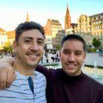Derek Hartman e Mike Walsh, que dirigem o site Everything Copenhagen.