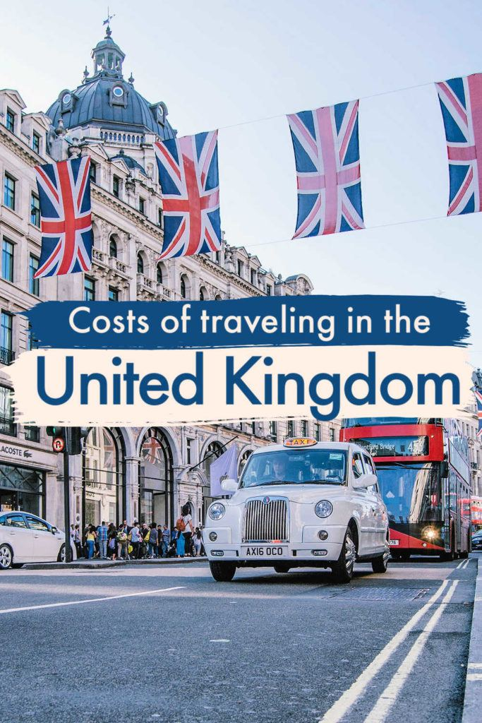 How much does it cost to travel to the UK? Prices and ...