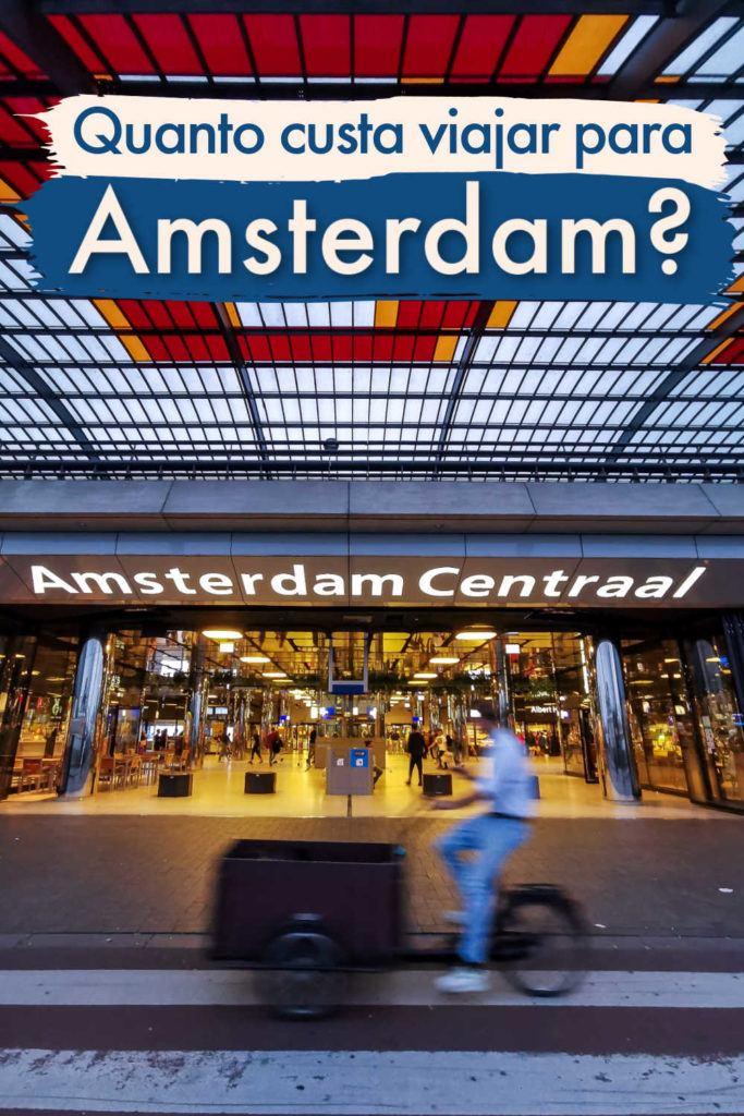Tudo que você precisa saber sobre quanto custa viajar para Amsterdam na Holanda está aqui. Um guia completo com preços de voos, transporte local, hostels e hotéis em Amsterdam. Uma lista das principais atrações em Amsterdam, o custo para visitá-las e até os preços de comidas e bebidas por lá. Também tem dicas para planejar sua viagem, seja ela de luxo ou um mochilão.
