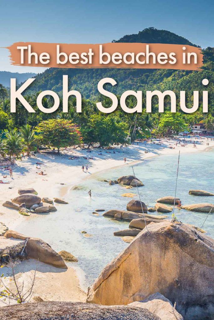 Are you ready to discover the best beaches in Koh Samui, Thailand? We listed Koh Samui's best beach from busy Chaweng to relaxing Lamai and authentic Bophut Beach. We share tips on what to do and where to stay on each beach so you can enjoy the best of this Thai Island.
