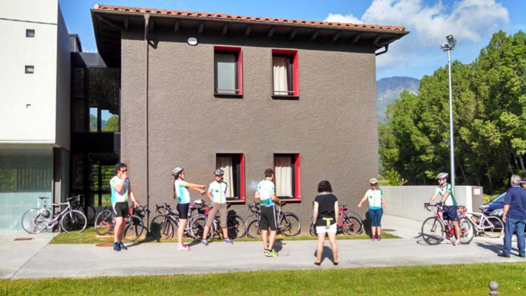 There are many bike hotels in Spain, from small guesthouses to resorts where you can rest and keep your bike safe.