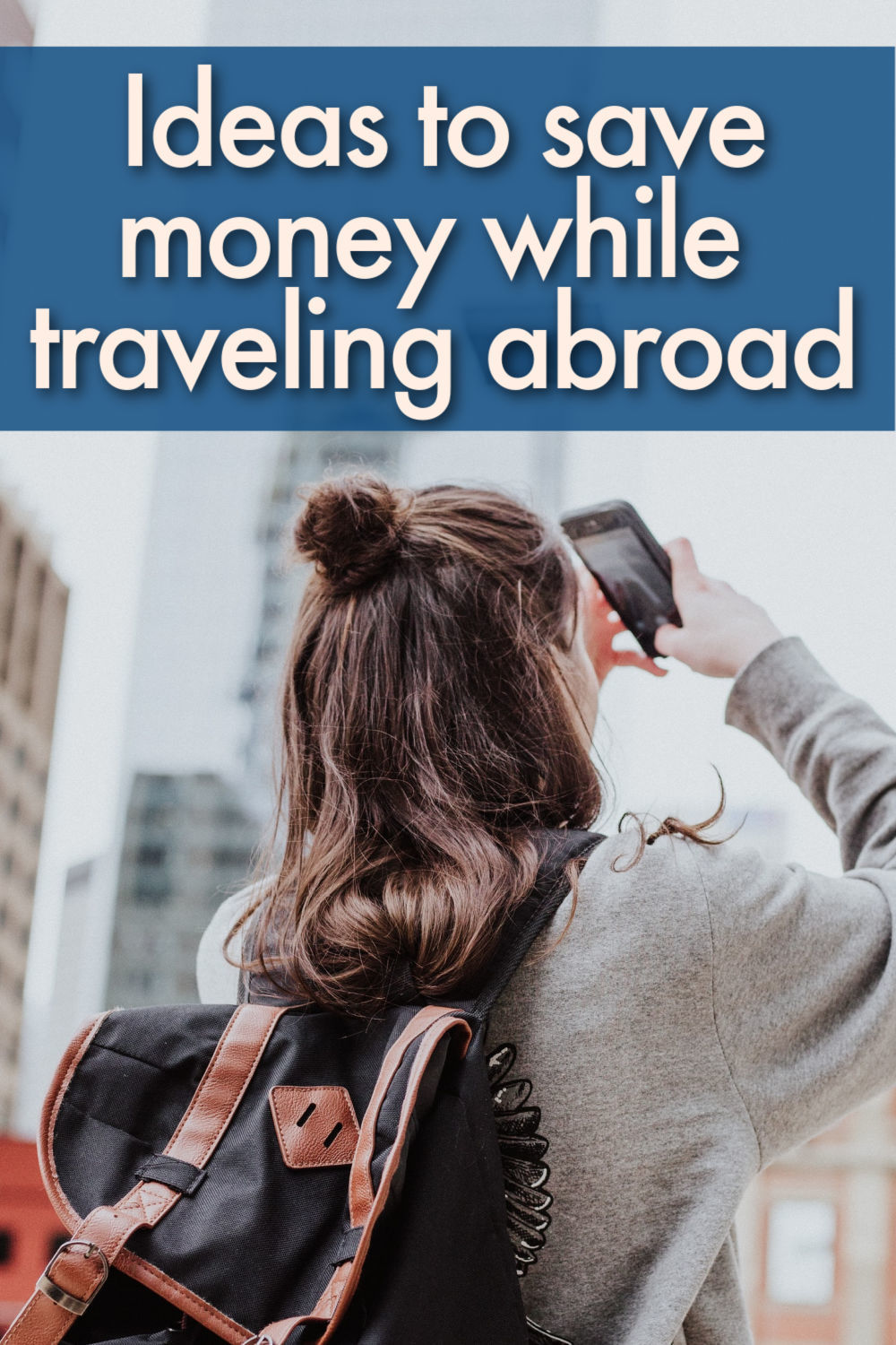 Creative and effective ways to save money for traveling abroad. Things you can do before or during the trip. These save money for travel tips are easy to follow and you can apply on your day by day life, things like creating a travel budget and following the budget, getting side jobs and even selling stuff you don't need anymore. It's easy to spend money while traveling, but it can also be easy to save money for traveling and while traveling.